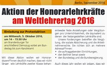 Aufruf zur Demonstration am 5. Oktober 2016 | ver.di Fachgruppe Musik Berlin/Brandenburg
